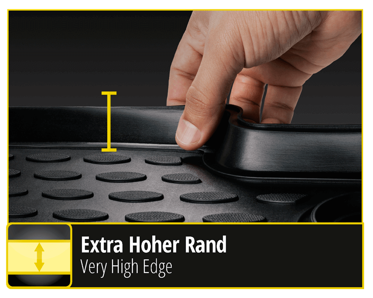 XTR - car mats convince with high edge